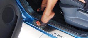 Prahové lišty na auto